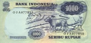 billet indonesien